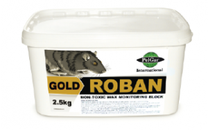 Roban Gold Non Toxic Monitoring Bait (Rat Bait) IPM Pest Control Product